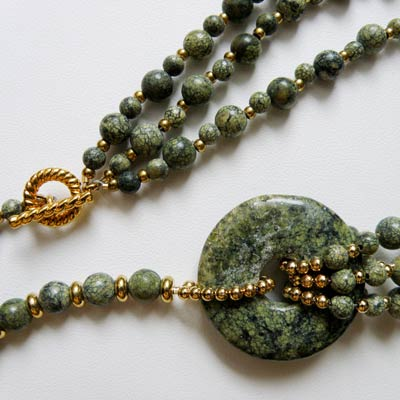 Russian Phyolite Necklace