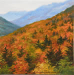 Crawford Notch, watercolor painting