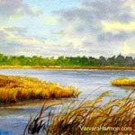 Marsh, watercolor